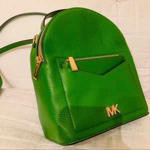 Michael Kors Jessa Pebble Leather Convertible Bag
